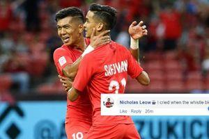 Singapore thắng đội mạnh ngang Việt Nam, người hâm mộ phát 'sốt'