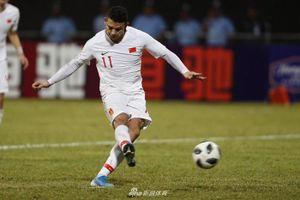 Ngôi sao nhập tịch lập cú đúp, Trung Quốc thắng '5 sao' Maldives