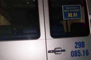 Phát hiện tài xế tử vong trong chiếc xe ô tô chở học sinh
