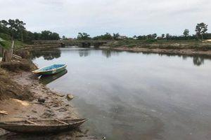 Người dân lo lắng vì xuất hiện cá sấu dưới sông