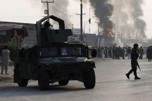 Ảnh Đại sứ quán Mỹ tại Afghanistan 'rúng động' vì bom đúng ngày lịch sử 11/9