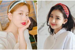 Không hẹn mà cùng tạo một kiểu tóc với băng đô: Dương Tử, Jennie, Suzy... xinh yêu hết nấc khiến dân mạng trầm trồ