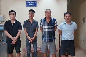 Hà Nội: Tạm giữ ổ nhóm tín dụng đen, cho vay tiền với lãi 'cắt cổ'