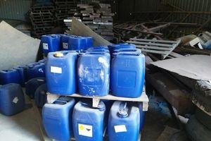 Vụ phá đường dây sản xuất ma túy 'khủng': Phát hiện kho hóa chất tại Bình Định