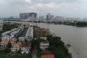 'Đất vàng' dọc sông Sài Gòn đang bị biến thành của riêng