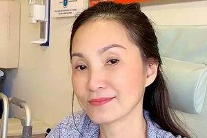 Nghệ sĩ Hồng Đào phải nhập viện vì bị suy nhược cơ thể