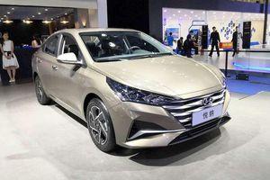 Hyundai Accent 2020 có ngoại hình khác lạ ở Trung Quốc
