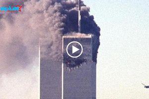 18 năm sau vụ khủng bố 11.9: Nhìn lại clip máy bay lao vào tòa tháp đôi ở Trung tâm Thương mại Thế giới