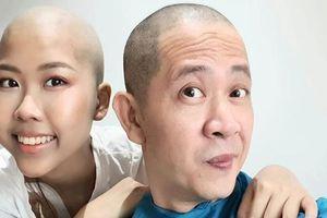Đạo diễn Đỗ Đức Thành cạo trọc đầu, hiến tủy cứu con gái ung thư