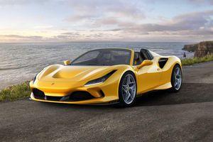 Ferrari giới thiệu phiên bản mui trần của F8 Spider
