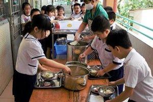 Bắc Giang áp dụng Dự án Bữa ăn học đường trong công tác bán trú