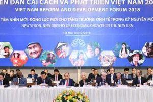 Diễn đàn Cải cách và Phát triển Việt Nam 2019: Hành động vì một Việt Nam thịnh vượng