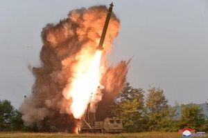 Pháo phản lực siêu lớn của Triều Tiên bị nghi ngờ phóng thử thất bại