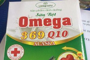 Sữa bột Omega 369 Q10 Alaska: Quảng cáo 'trên trời', dinh dưỡng không đạt chuẩn