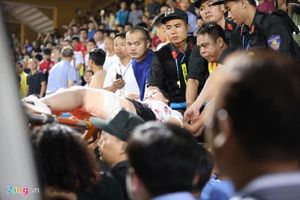 Hà Nội chỉ đạo khẩn sau vụ đốt pháo sáng khiến nữ CĐV cấp cứu