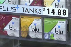 Mỹ sẽ cấm buôn bán hương vị trong thuốc lá điện tử