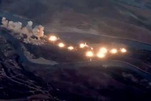 Tiêm kích Mỹ rải thảm 36 tấn bom xuống Iraq diệt IS