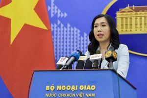 Yêu cầu Trung Quốc chấm dứt ngay việc xâm phạm vùng biển VN