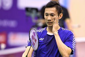 Tiến Minh đánh bại tay vợt hơn 14 bậc trong 36 phút