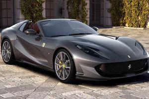 Siêu xe mui trần mạnh nhất thế giới Ferrari 812 GTS có gì đặc biệt?