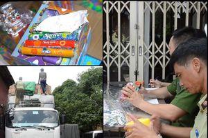 Hà Nội: Phát hiện chặn bắt 50 tấn bánh kẹo, đồ chơi trẻ em nhập lậu