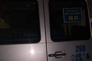 Một người tử vong trong xe đưa đón học sinh