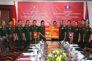 Tăng cường hợp tác giữa Bộ đội Biên phòng Việt Nam và Lào