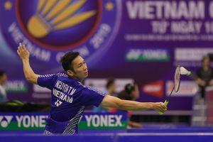 Giải cầu lông Việt Nam Open: Chỉ còn Tiến Minh lọt vào tứ kết