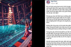 Sau 'trộm' ảnh, vợ hai Minh Nhựa bị tố 'lấy caption sống ảo không ghi nguồn'