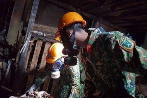 Vụ cháy công ty Rạng Đông: Đã xây dựng phương án tẩy độc đất nền