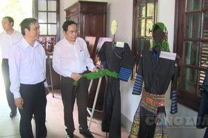 Đồng chí Trần Thanh Mẫn dự lễ khánh thành nhà Đại đoàn kết tại Phú Thọ