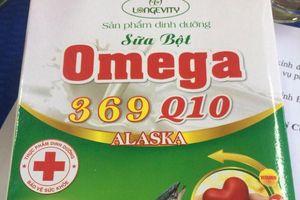 Thu hồi 5.000 hộp sữa Omega chỉ đạt 40% so với chuẩn công bố