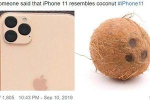 Cụm 3 camera của iPhone 11 mới ra mắt gây tranh cãi trong giới trẻ