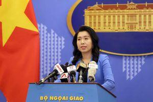 Việt Nam trả lời câu hỏi của truyền thông Trung Quốc về tình hình Hồng Kông