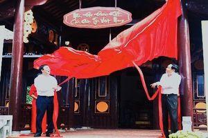 Hoàn thiện Nhà Đại đoàn kết các dân tộc Việt Nam tại Đền Hùng - Phú Thọ
