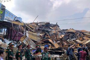 Cảnh tan hoang đổ nát bên trong nhà máy Rạng Đông sau nửa tháng xảy ra vụ cháy