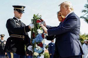 Ông Trump kể chuyện tận mắt chứng kiến máy bay lao vào tháp đôi ngày 11/9