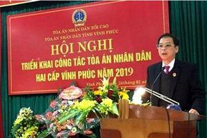 TAND tỉnh Vĩnh Phúc: Hoàn thành tốt nhiệm vụ chính trị, góp phần phát triển kinh tế-xã hội địa phương