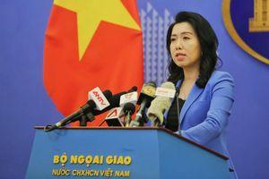 Việt Nam yêu cầu Trung Quốc lập tức rút nhóm tàu Hải Dương 8