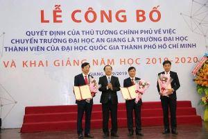 Công bố quyết định của Thủ tướng về Trường đại học An Giang
