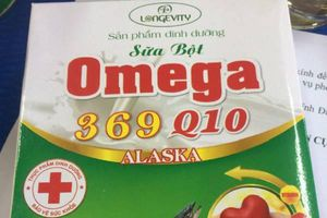 Thu giữ hơn 5.000 hộp sữa bột Omega 369 Q10 Alaska không đạt chuẩn