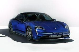 Chiêm ngưỡng vẻ đẹp của Porsche Taycan Turbo 2020 giá 3,5 tỷ