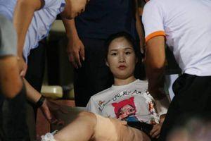 Truyền thông quốc tế sửng sốt vì tai nạn pháo sáng trên SVĐ Hàng Đẫy