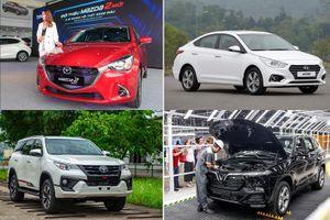 Toàn thị trường ô tô sụt giảm mạnh trong tháng 'cô hồn'