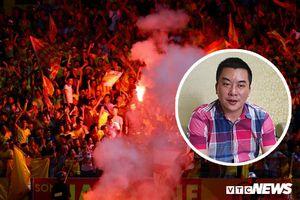Giám đốc CLB Nam Định: 'BTC sân kiểm soát lỏng, CĐV mang cả pháo thăng thiên vào bắn thì không thể ngờ được'