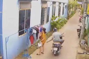 Dự kiến phạt 200.000 đồng kẻ sờ vào vùng kín cô gái phơi đồ