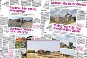 Vụ sai phạm đất đai ở Bình Chánh: Khởi tố 1 nhân viên hợp đồng