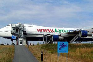 Khoang máy bay Boeing 747 biến thành nhà nghỉ