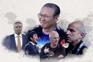Hiddink, Eriksson và các HLV tên tuổi bại dưới tay Park Hang-seo