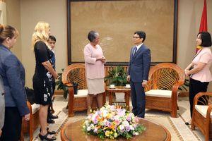Phó Thủ tướng tiếp Bộ trưởng Lao động và An sinh xã hội Cuba